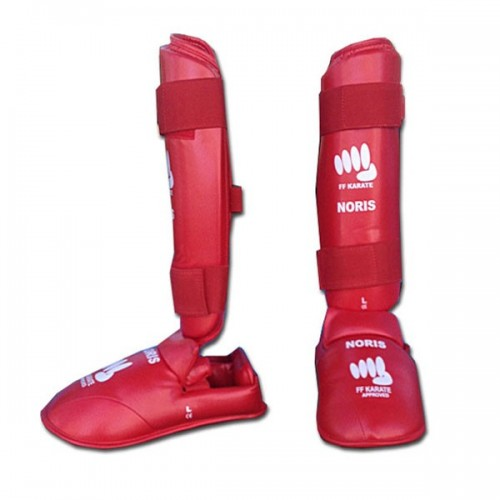 PROTECTION TIBIA + PIED FFKARATE PROTECTION TIBIA + PIED FFKARATE c4e30859259